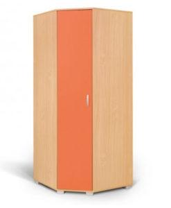 Matis Bambi Γωνιακή Ντουλάπα Πορτοκαλί