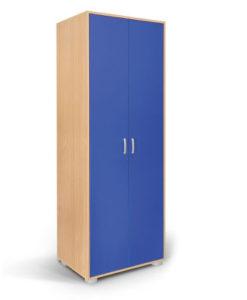 Matis Bambi Παιδική Δίφυλλη Ντουλάπα Μπλε