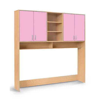 Matis Bambi Παιδική Ραφιέρα Κρεβατιού Ροζ