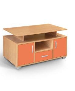 Matis Bambi Παιδικό Έπιπλο Τηλεόρασης Πορτοκαλί
