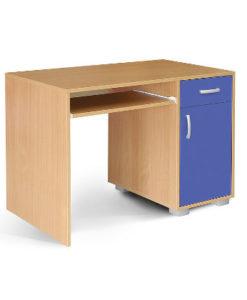 Matis Bambi Παιδικό Γραφείο Υπολογιστή Μπλε