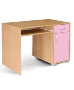 Matis Bambi Παιδικό Γραφείο Υπολογιστή Ροζ