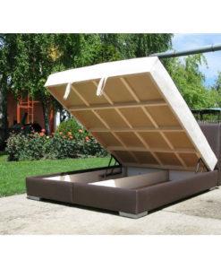 Matis Sampanj MM3050301 Διπλό Κρεβάτι 214x166x90cm
