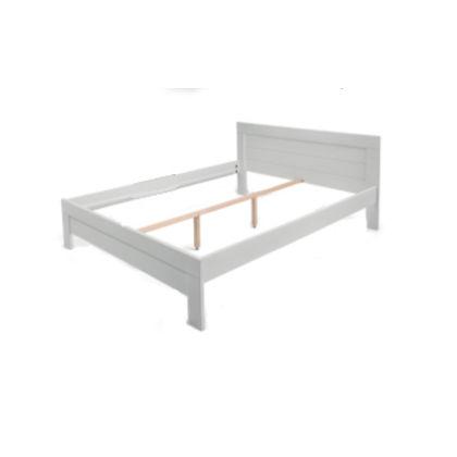 Matis Woody Classic Latoflex Κρεβάτι 140x200cm Άσπρο