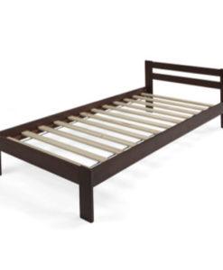 Matis Woody Praktik Κρεβάτι 90x200cm Βέγκε