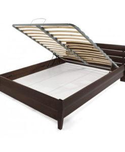 Matis Woody Soft Κρεβάτι 215x169cm Βέγκε