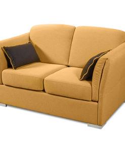 Matis Uniqa MM3020604 Διθέσιος Καναπές Κίτρινος