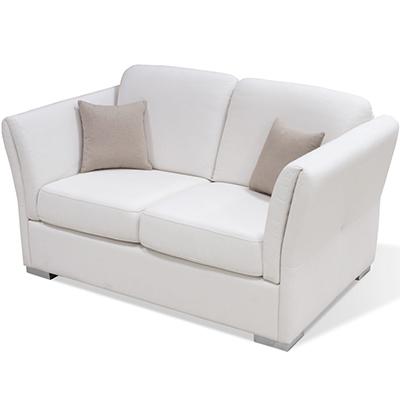 Matis Uniqa MM3020606 Διθέσιος Καναπές Λευκός
