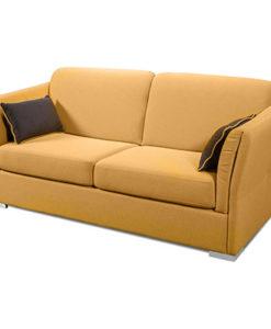 Matis Uniqa MM3020804 Τριθέσιος Καναπές Κίτρινος