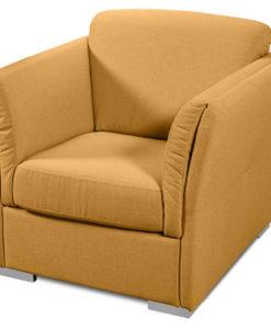 Matis Uniqa MM3030904 Πολυθρόνα Κίτρινη