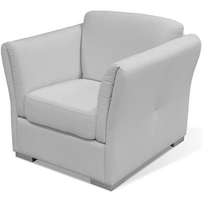 Matis Uniqa MM3030906 Πολυθρόνα Λευκή