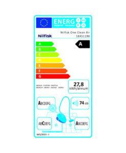 Nilfisk 18451190 One Clean Air EU Ηλεκτρική Σκούπα 800W