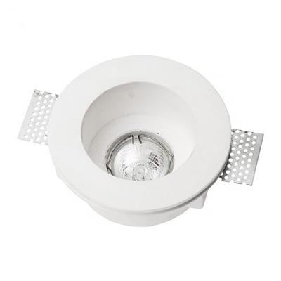 Spotlight 5632 Φωτιστικό Σποτ Χωνευτό Στρογγυλό Γύψινο Σταθερό Βαθύ 230V