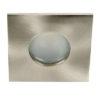 VK Hellas Electric 64173-020121 VK/03035/MC Φωτιστικό Σποτ Οροφής Τετράγωνο Αδιάβροχο Νίκελ Ματ