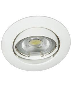 VK Hellas Electric 64173-026121 VK/03008G/W Φωτιστικό Σποτ Οροφής Στρογγυλό Λευκό