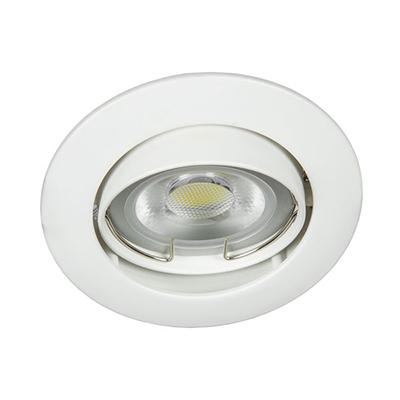 VK Hellas Electric 64173-026121 VK 03008G W Φωτιστικό Σποτ Οροφής Στρογγυλό  Λευκό 6abbae81142