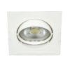 VK Hellas Electric 64173-029121 VK/03011G/W Φωτιστικό Σποτ Οροφής Τετράγωνο Λευκό