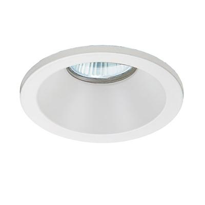 VK Hellas Electric 64173-034121 VK/03059/W Φωτιστικό Σποτ Οροφής Στρογγυλό Αδιάβροχο Λευκό