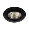 VK Hellas Electric 64173-047121 VK/03008G/B Φωτιστικό Σποτ Οροφής Στρογγυλό Μαύρο