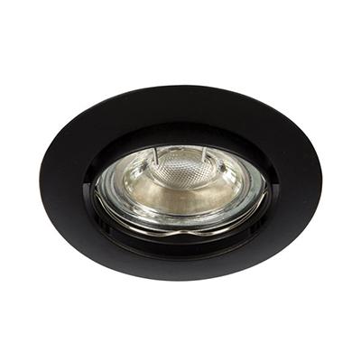 VK Hellas Electric 64173-047121 VK 03008G B Φωτιστικό Σποτ Οροφής Στρογγυλό  Μαύρο cdea0a11e67