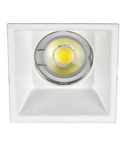 VK Hellas Electric 64173-053121 VK/03013G/W Φωτιστικό Σποτ Οροφής Trimless Τετράγωνο Λευκό