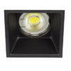 VK Hellas Electric 64173-054121 VK/03013G/B Φωτιστικό Σποτ Οροφής Trimless Τετράγωνο Μαύρο