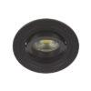 VK Hellas Electric 64173-056121 VK/03015G/Β Φωτιστικό Σποτ Οροφής Στρογγυλό Μαύρο