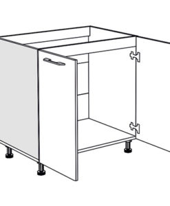 Matis IN D80S Ντουλάπι Νεροχύτη Κουζίνας 80x55x82Cm
