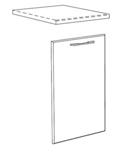 Matis IN MASKA Πρόσοψη Πλυντηρίου Πιάτων 72x45Cm
