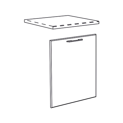 Matis IN MASKA Πρόσοψη Πλυντηρίου Πιάτων 72x60Cm