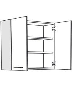 Matis IN V80 Επιτοίχιο Ντουλάπι Κουζίνας 80x31x72Cm