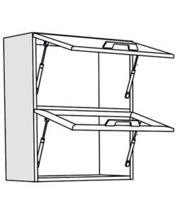 Matis IN VH60 Επιτοίχια Βιτρίνα Κουζίνας 60x31x72Cm