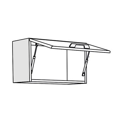 Matis IN VH60/36 Επιτοίχιο Ντουλάπι Κουζίνας 60x31x36Cm