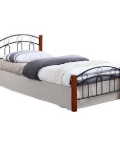WOODWELL NORTON Διπλό Κρεβάτι 145x201x79cm