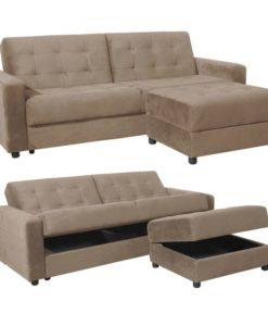 Woodwell JACKSON Καναπές-Κρεβάτι & Σκαμπό Ε9579,4