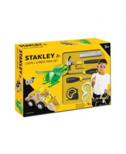 Stanley JR U009-K02-T06-SY Σετ Με 2 Κατασκευές & 6 Εργαλεία