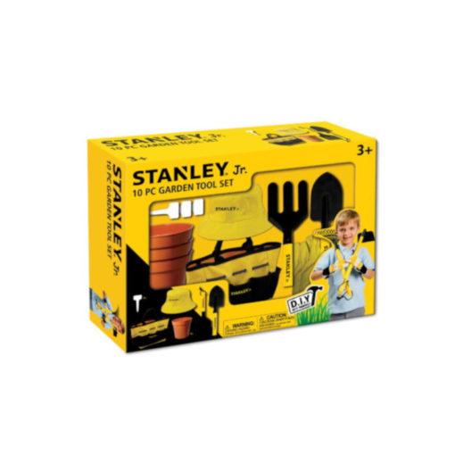 Stanley JR SG004-10-SY Σετ Παιδικών Εργαλείων Κήπου 10 Τεμαχίων
