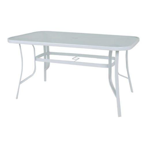 RIO Μεταλλικό Τραπέζι Με Γυαλί 120x70x71cmΕ2503,2