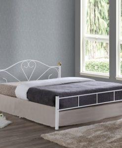 LAZAR Διπλό Μεταλλικό Κρεβάτι 158x210x95cm