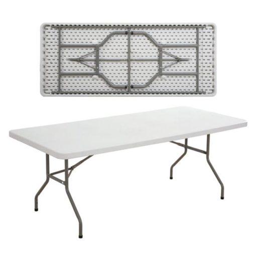 BLOW Πτυσσόμενο Τραπέζι Συνεδρίου-Catering 183x76x74cm